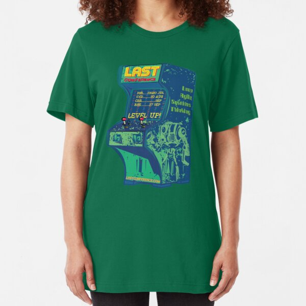 LAST Conference 2018. Single. All cities. Slim Fit T-Shirt