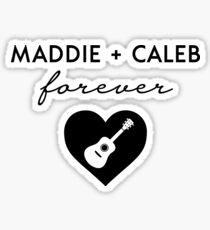 Maddie + Caleb Forever - Favorite Idol Couple Glossy Sticker