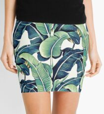 Banana Leaves Mini Skirt