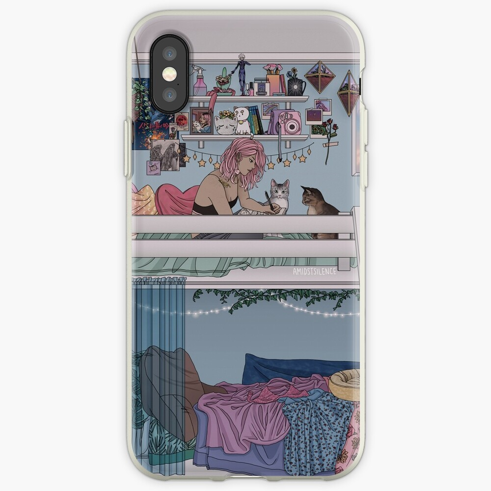 Pastell Daydreams iPhone-Hülle & Cover