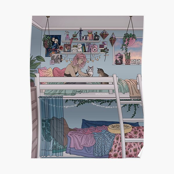 Pastel Daydreams Poster