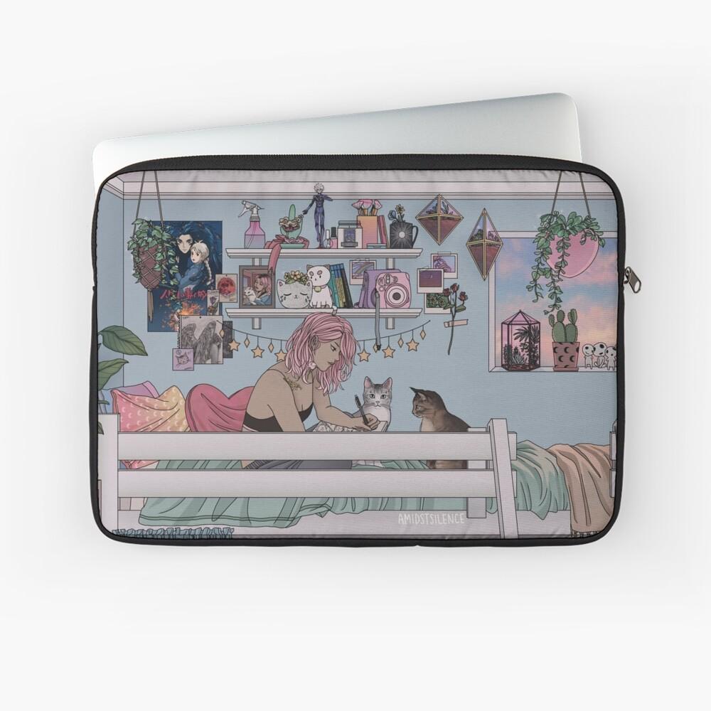 Pastell Daydreams Laptoptasche