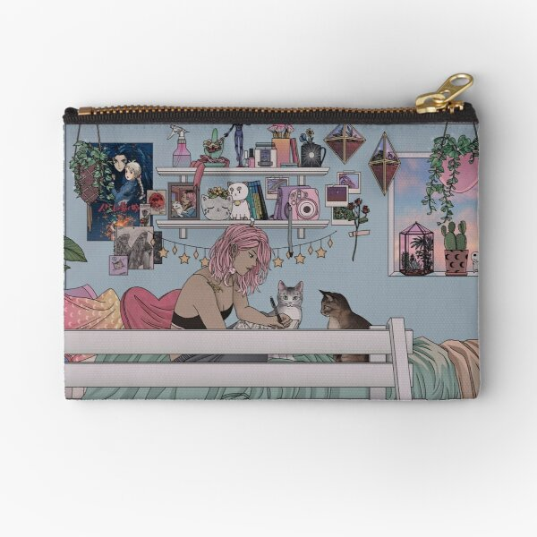 Pastel Daydreams Zipper Pouch