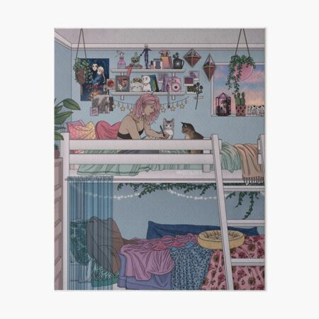 Pastel Daydreams Art Board Print