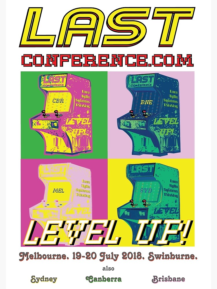 LAST Conference MEL 2018. Poster and Art. by lastconf