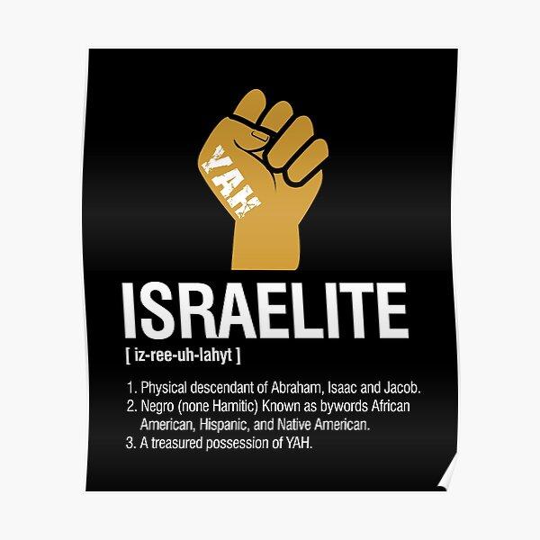 Israelite Definition Poster