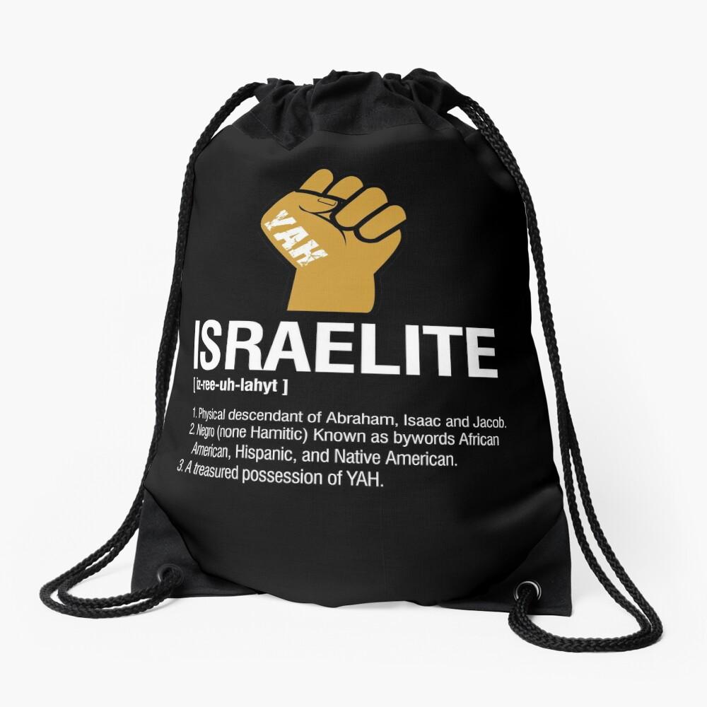 Israelite Definition Drawstring Bag