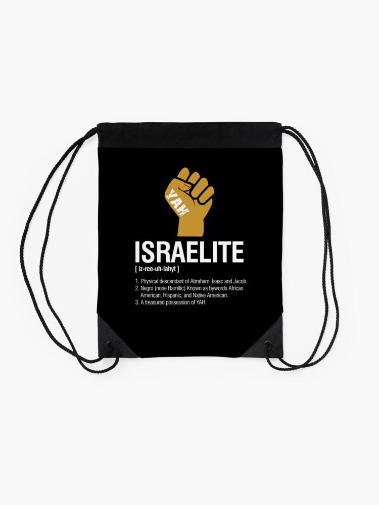 Alternate view of Israelite Definition Drawstring Bag