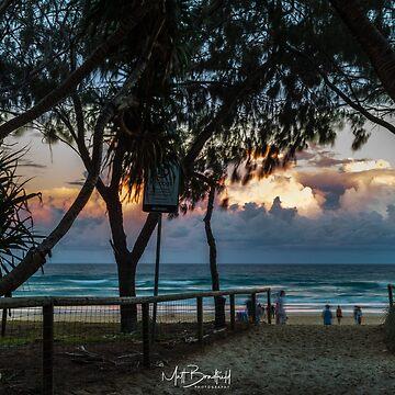 Gold Coast Stormy Sunset by MattBradfield