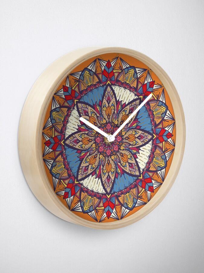 Vista alternativa de Reloj Transformaciones