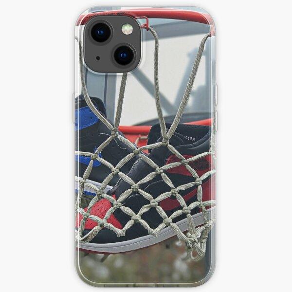 Air Jordan 1 Bred Royal Basketball Funda blanda para iPhone
