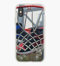 Air Jordan 1 Bred Royal Basketball iPhone Case
