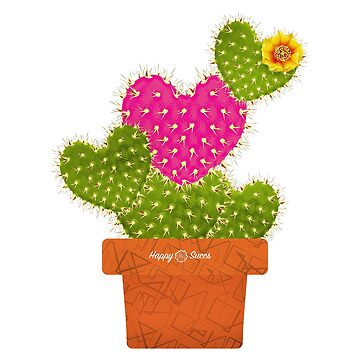 Happy Succs Love Cactus by Nasinxone