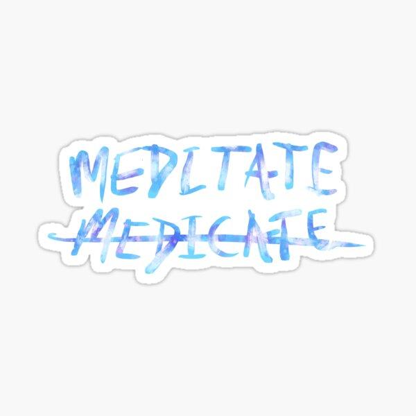 KOD J. Cole Meditate Sticker