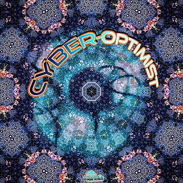 Cyber-optimist abstract pattern by Linandara