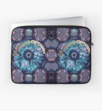 Cyber-optimist abstract pattern Laptop Sleeve