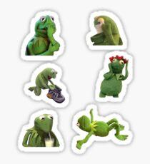 Kermit Meme Set 2 Sticker