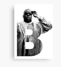 Lienzo B es para Notorious BIG RIP big poppa