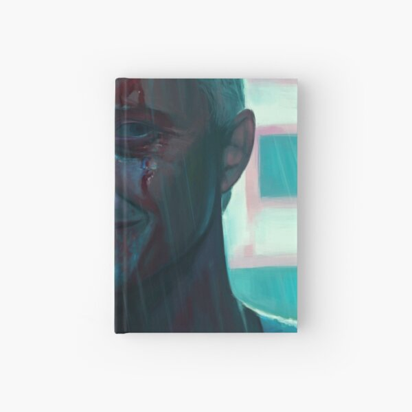 Lost in time / tears in rain / time to die Hardcover Journal
