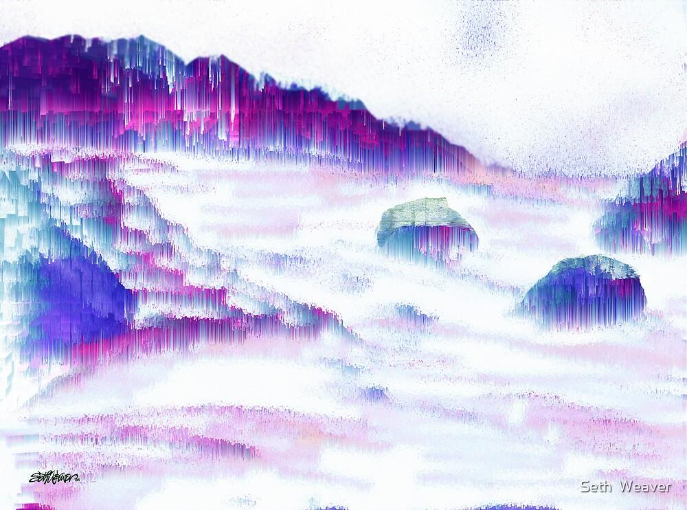 Rainy Surf by Seth  Weaver