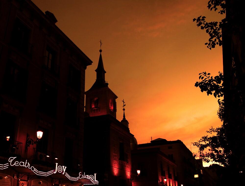 Madrid on fire by kerendanieli
