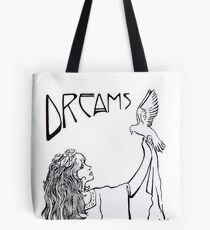Stevie Nicks- Art Nouveau Style- B&W Tote Bag