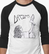 Stevie Nicks - Jugendstil - B & W Baseballshirt für Männer
