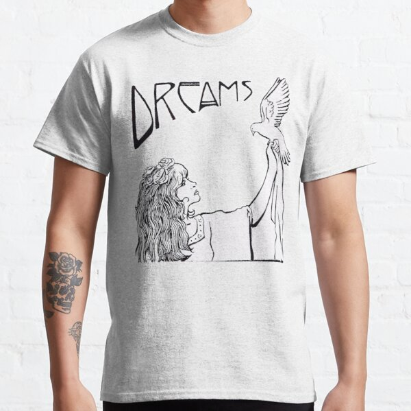 Stevie Nicks- Style Art Nouveau- B & W T-shirt classique