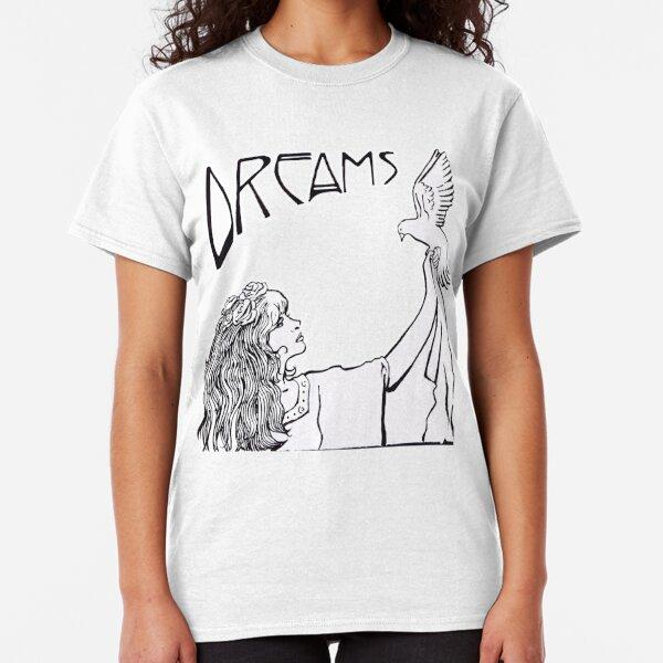 Stevie Nicks- Art Nouveau Style- B&W Classic T-Shirt