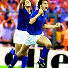 MARCO TARDELLI LEGENDARY JUVENTUS ITALIA ITALY FOOTBALL STAR SUPER COOL POSTER by westox