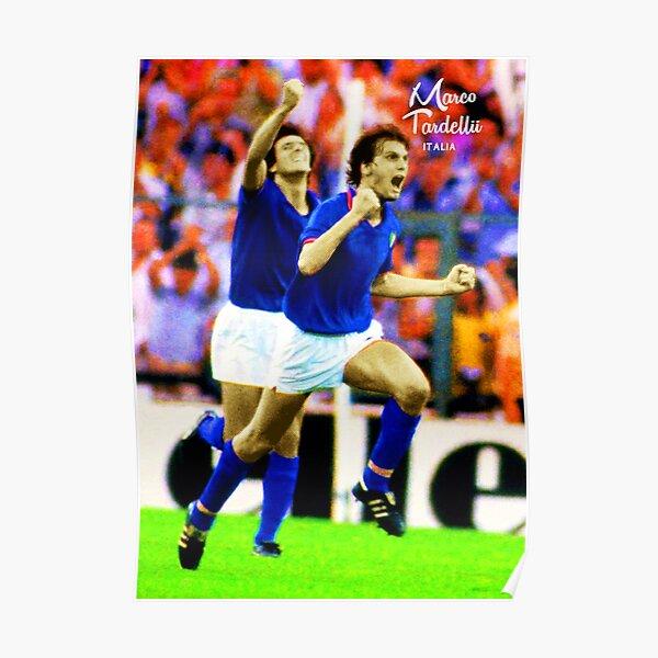 MARCO TARDELLI LEGENDARY JUVENTUS ITALIA ITALY FOOTBALL STAR SUPER COOL POSTER Poster