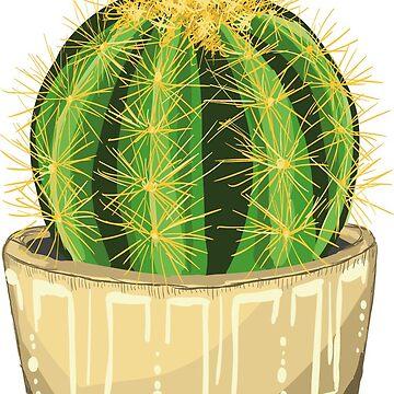 Cactus by Kuhtina