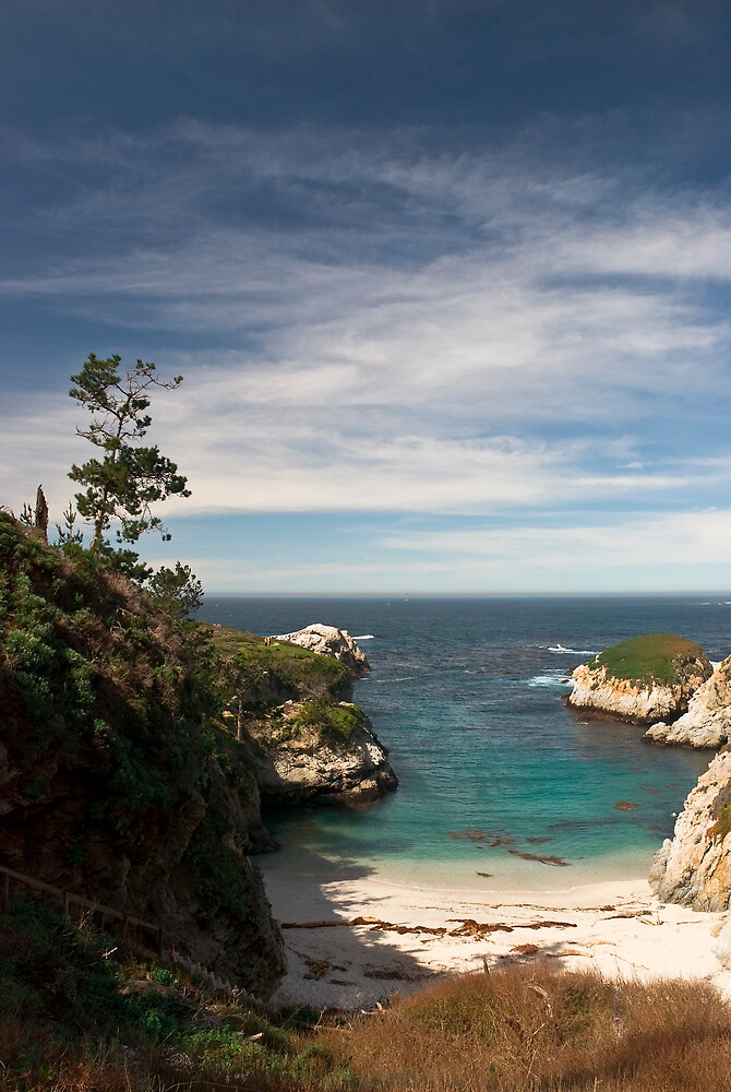 Idyllic beach in China Cove by MarkEmmerson