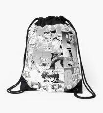 Angel Beats Collage  Drawstring Bag