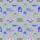 Stay Cool pattern by Ruta Dumalakaite