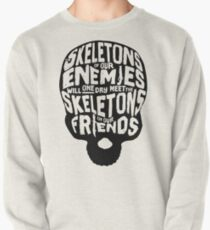 Skeletons of our Enemies - Black Overflow Pullover