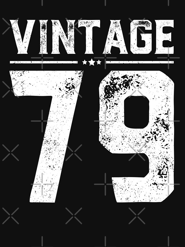 Vintage 79 Shirt 39 Years Old 39th Birthday Gift Shirt Old by trendingorigins