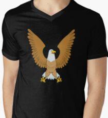 Eagle coat of arms bird Men's V-Neck T-Shirt
