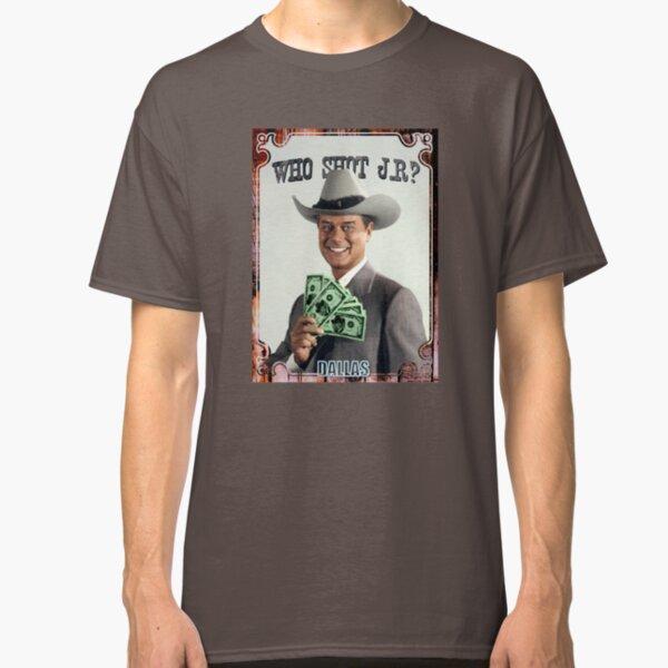 Who shot JR? Classic T-Shirt