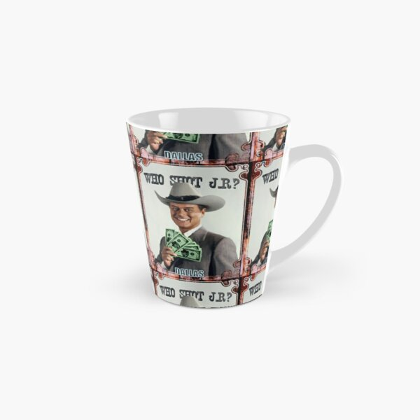 Who shot JR? Tall Mug