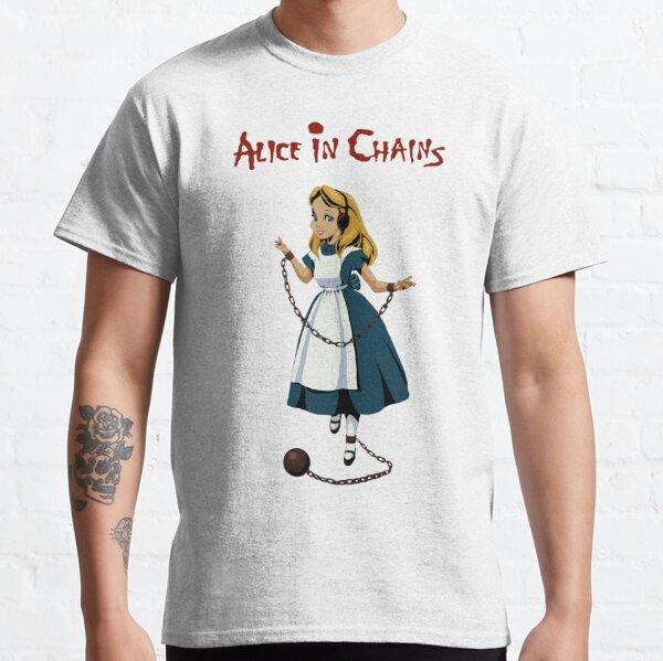 Alicia en algunas cadenas Camiseta clásica