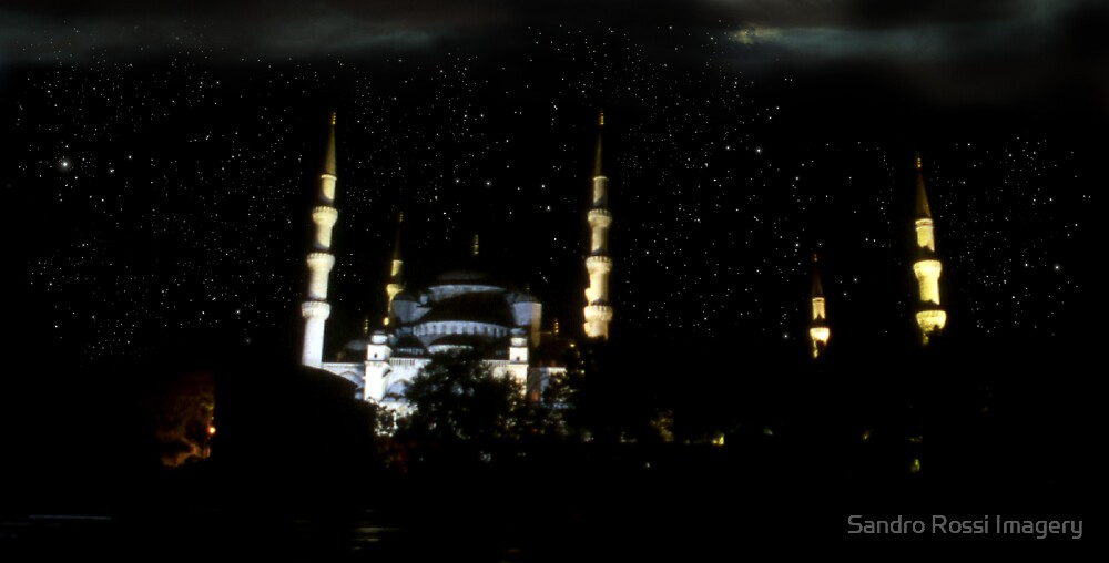 Blue Mosque by Sandro Rossi Imagery