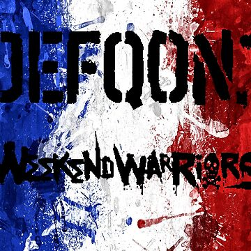 « Drapeau francais Week-end Warrior » par Lytazo