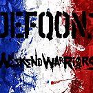 « Drapeau francais Week-end Warrior » par Lytazo