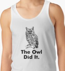 Owl Did It Staircase Tank Top