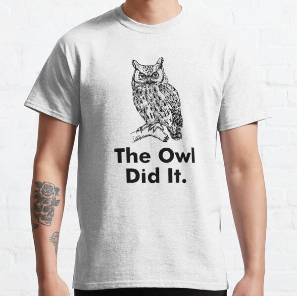 Owl Did It Staircase Classic T-Shirt