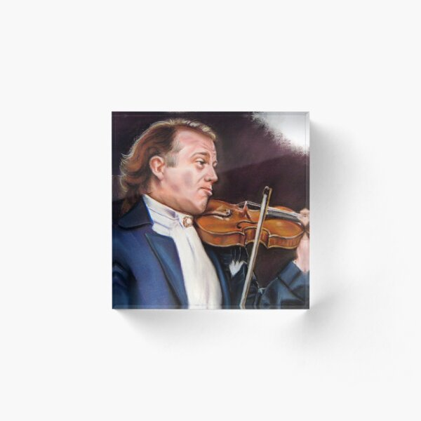 portrait of Andre Rieu Acrylic Block