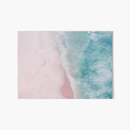 Ocean walk Art Board Print
