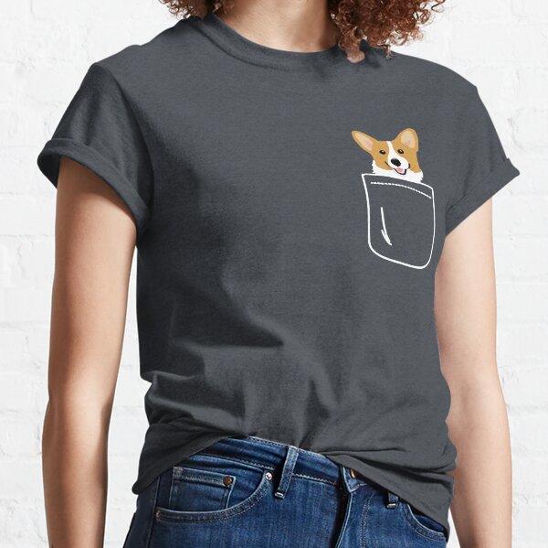 eres un amante de los animales o crees que los perros son tu espíritu animal Camiseta clásica