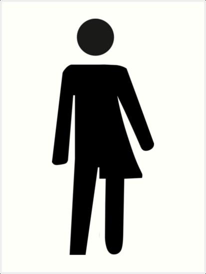 transgender toilet sign bathroom by sweetsixty - Transgender Bathroom Sign